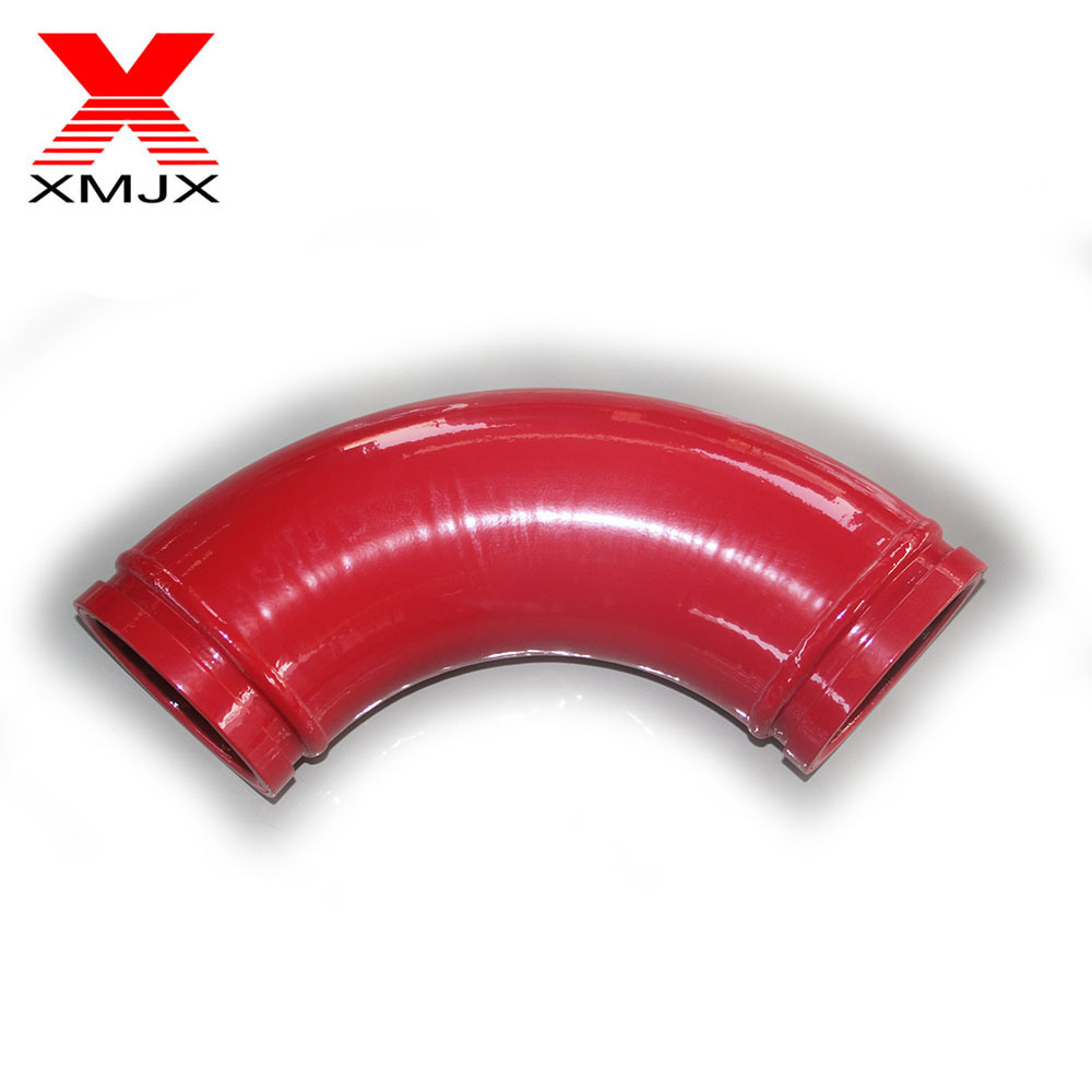 DN 125 Bend Pipe Elbow for Concrete Pump Truck